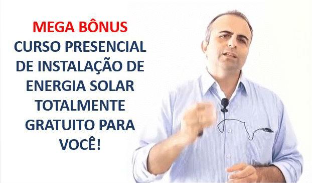 curso presencial de instalacao de energia solar gratuito