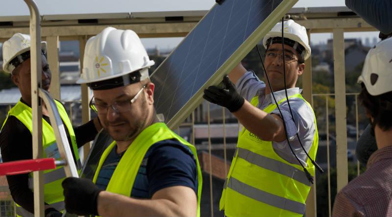 como instalar uma placa solar